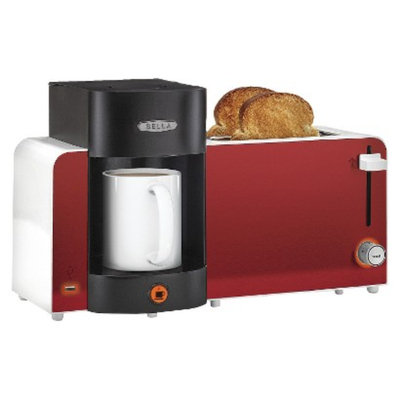 Sensio Bella Toast and Brew - Red