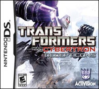 Activision Transformers: War For Cybertron Decepticons