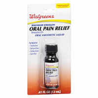 Walgreens Oral Analgesic Liquid