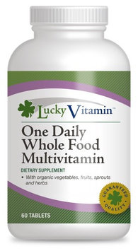 LuckyVitamin - One Daily Whole Food Multivitamin - 60 Tablets