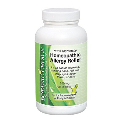 Botanic Choice Homeopathic Allergy Relief Formula, Tablets
