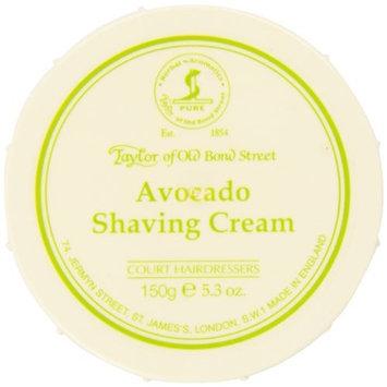 Taylor of Old Bond Street Avocado Shaving Cream In A Bowl, 5.3-Ounce