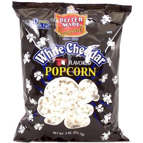 Better Made white cheddar flavored popcorn, 9-oz. bag