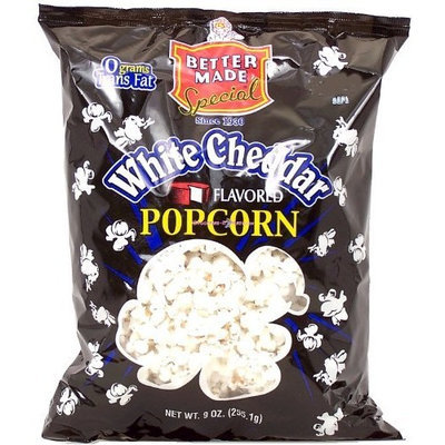 Better Made white cheddar flavored popcorn, 9-oz. bag