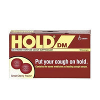 Hold DM Cough Drops-Cherry-10 ct