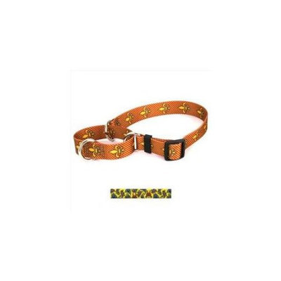 Yellow Dog Design M-BTY102M Butterflies on Yellow Martingale Collar - Medium