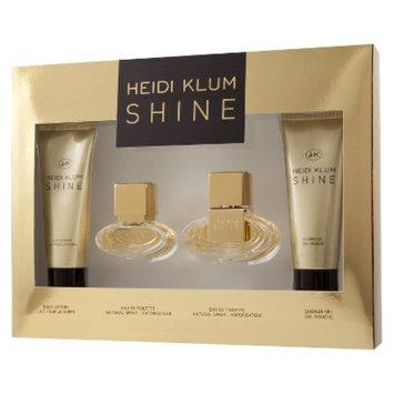 Women's Shine by Heidi Klum Gift Set - 4 pc