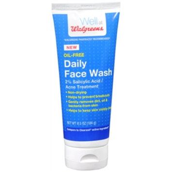 Walgreens Face Wash, 6.5 oz