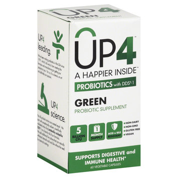 Up4 UP4 Probiotics with DDS-1 Green - 60 Vegetable Capsules