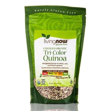 NOW Foods LivingNOW Tri Color Quinoa Organic 14 oz