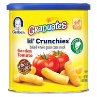 Gerber Graduates Lil' Crunchies Garden Tomato - 1.48 oz. (6 Pack)