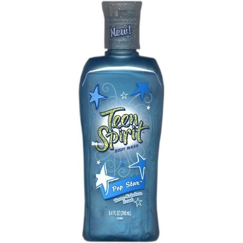 Teen Spirit Body Wash Pop Star 8.4 oz (3 Pack)