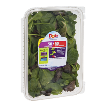 Dole 50/50 Spring Mix and Baby Spinach