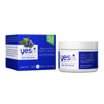 Yes To Blueberries Deep Wrinkle Night Cream - 1.7 fl oz