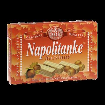 Kras Napolitanke Hazelnut Wafers