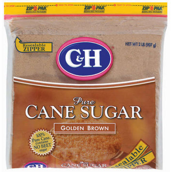 C & H Golden Brown Pure Cane Sugar 2-lb.