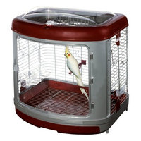 Super Pet Habitat Defined Bird Enrichment Home with Activity Center