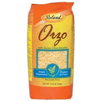 Roland Greek Orzo Pasta, 17.64-Ounce Package (Pack of 6)