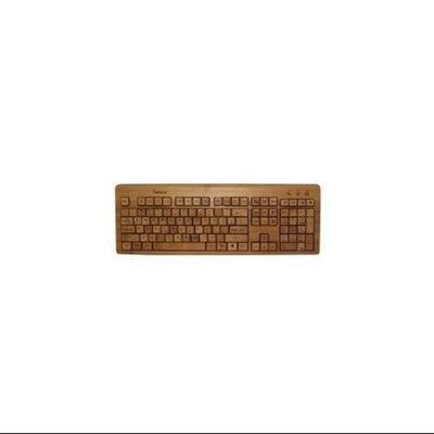 Impecca KBB500 Full Bamboo Custom Carved Designer Keyboard
