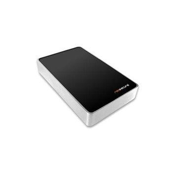 Rocstor Hawker HX 1TB 2.5 External Hard Drive - USB 3.0, eSATA - SATA - 7200 - Portable - Silver