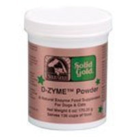 SOLID GOLD 937629 D-Zymes Powder, 6-Ounce