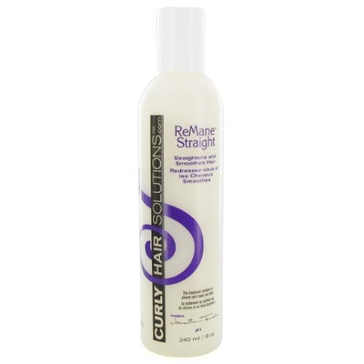 Curly Hair Solutions Remane Straight, 8 Ounce