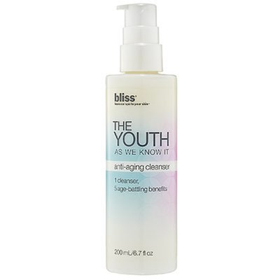 Bliss The Youth As We Know It anti aging cleanser