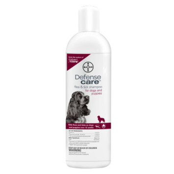 Bayer Defense Care Flea & Tick Dog Shampoo