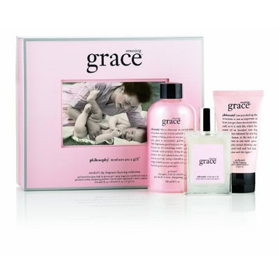 Philosophy Amazing Grace Mother's Day Fragrance Layering Collection, 12 Ounce