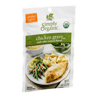 Simply Organic Chicken Gravy Mix