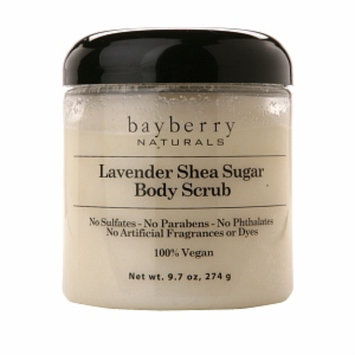 Bayberry Naturals Sugar Body Scrub, Lavender Shea, 9.7 oz