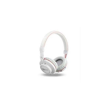 Victory Multimedia NoiseHush Bluetooth Headphones W/ Mic White Via Ergoguys