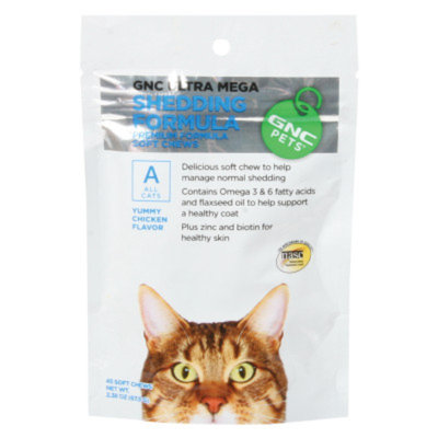 GNC Pets Shedding Formula Soft Cat Chews