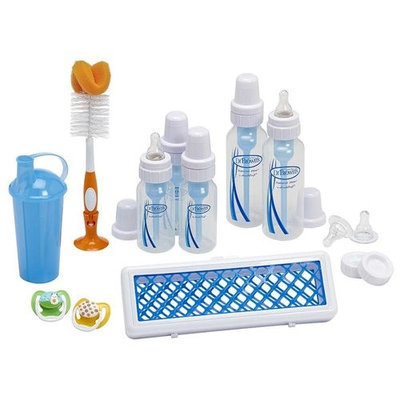 Infant Dr Brown's First-Year Feeding Set