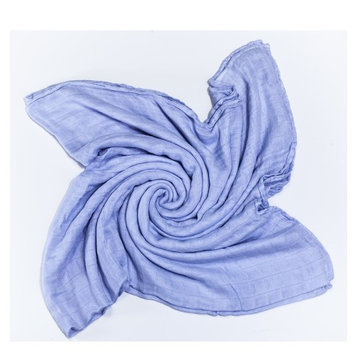 Austin Tie Dye Co Bamboo Swaddle Blanket for Babies - Light Purple