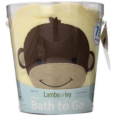 Lambs & Ivy Bath To Go Gift Set, Daisy (Discontinued by Manufacturer)
