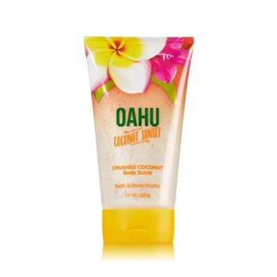 Bath & Body Works OAHU COCONUT SUNSET Crushed Coconut Body Scrub 7.7 oz / 220 g