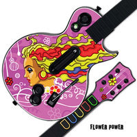 MightySkins GUITAR HERO 3 III Faceplate Skin Skins for PS3 Xbox 360 Les Paul - Flower Power