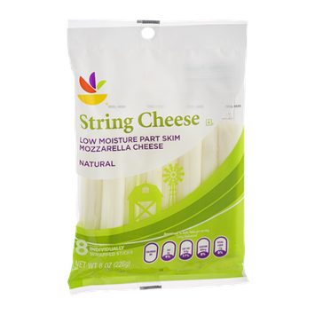 Ahold String Cheese Mozzarella - 8 CT