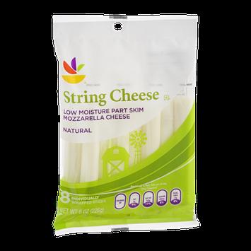 Ahold String Cheese Mozzarella - 8 CT