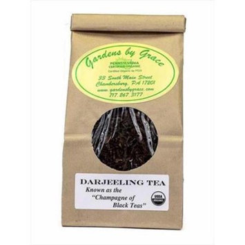 Gardens By Grace 09604X Tea Organic Loose Leaf Darjeeling 4 Oz