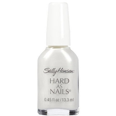 Sally Hansen Hard As Nails Color Nail Enamel - Platinum - 0.45 oz