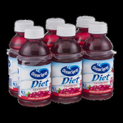 Ocean Spray Diet Cranberry Juice Drink - 6 CT
