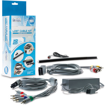 HyperkinM05609 Nintendo Wii Lost Cable Kit Gray