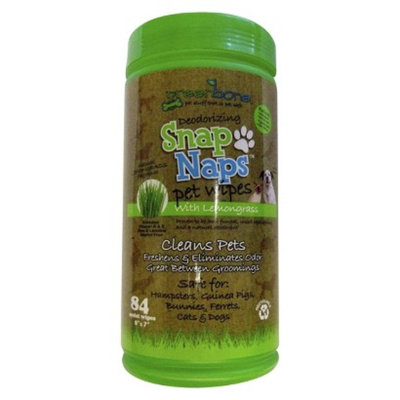Greenberry Eco-Industries, LLC Greenbone's Snap Naps Natural Pet Wipes Canister 84ct.