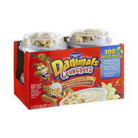 Dannon Danimals Crunchers Vanilla with Chocolate Chip Grahams Nonfat Yogurt - 4 PK