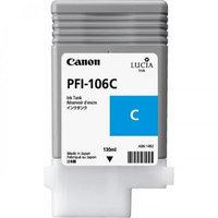 Canon 6622B001AA Pfi-106C Pigment Ink Tank 130Ml
