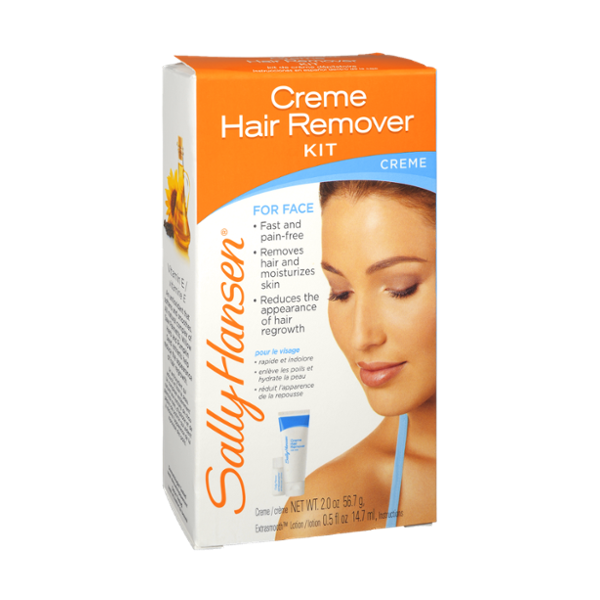 Sally Hansen Creme Face Hair Remover Kit