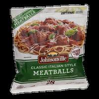 Johnsonville Meatballs Classic Italian Style