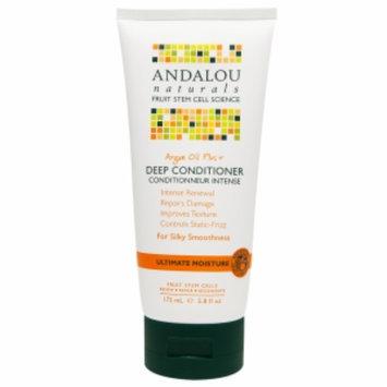 Andalou Naturals Argan Oil Plus+ Deep Conditioner, 5.8 fl oz